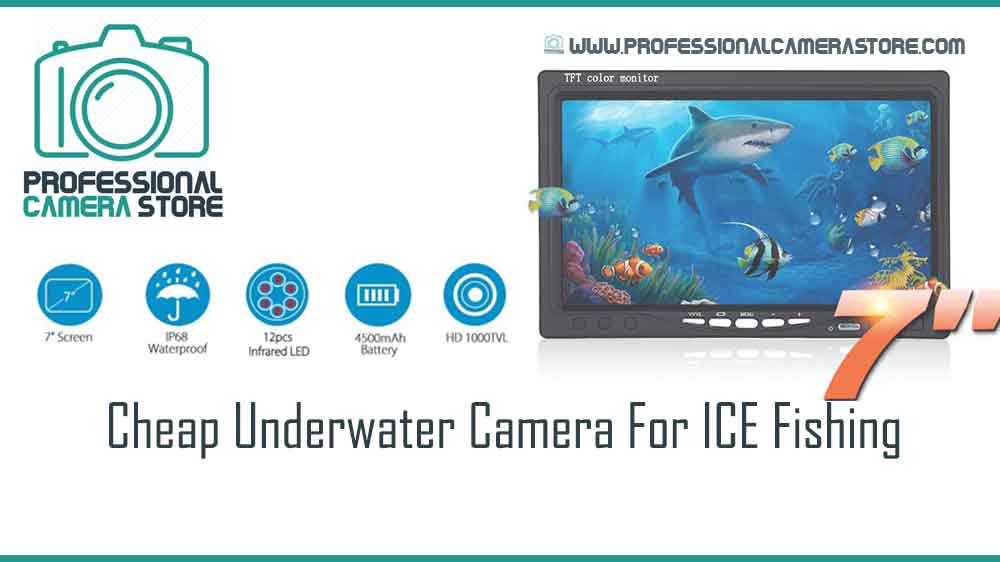 Cheap Underwater Camera For ICE Fishing