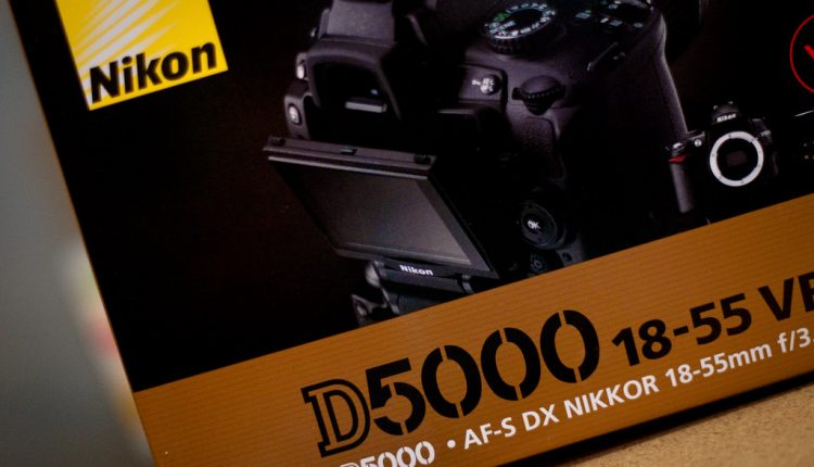 How auto focus works on Nikon D5000DX